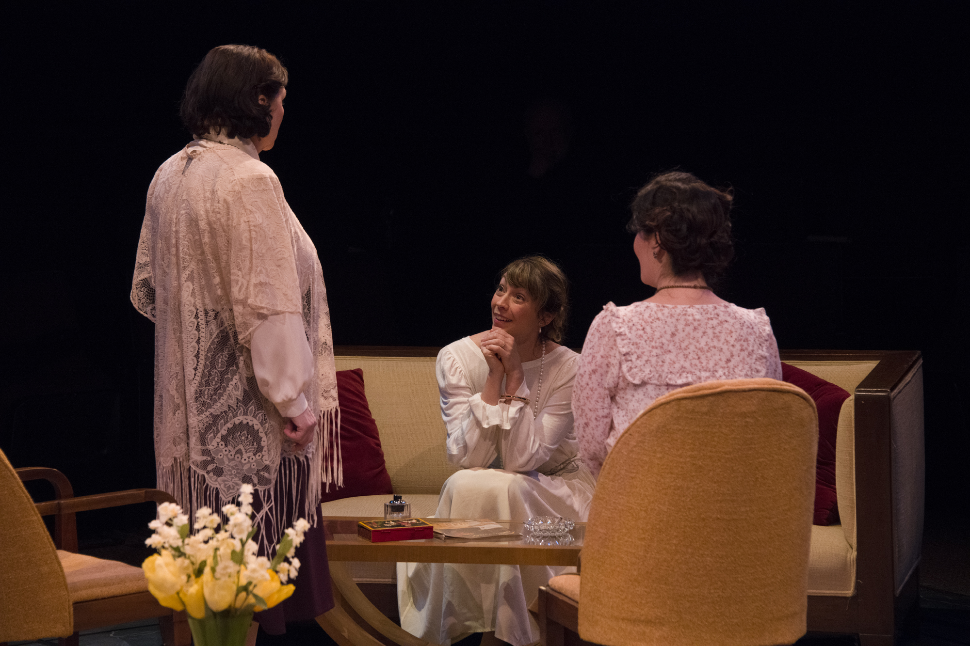 """3-1/2 STARS!  """"'The Constant Wife' is a constant pleasure"""" – The Buffalo News"""