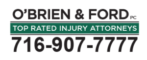 O'Brien & Ford PC. Top rated injury attorneys. call 716-907-7777