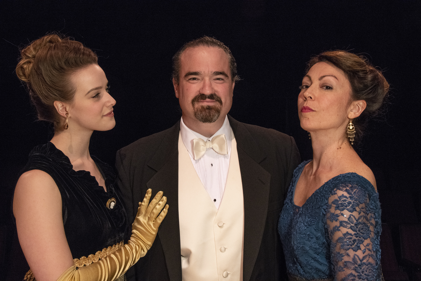 "Davidow, Witten and LoConti star in ""Lady Windermere's Fan"" at ICTC."