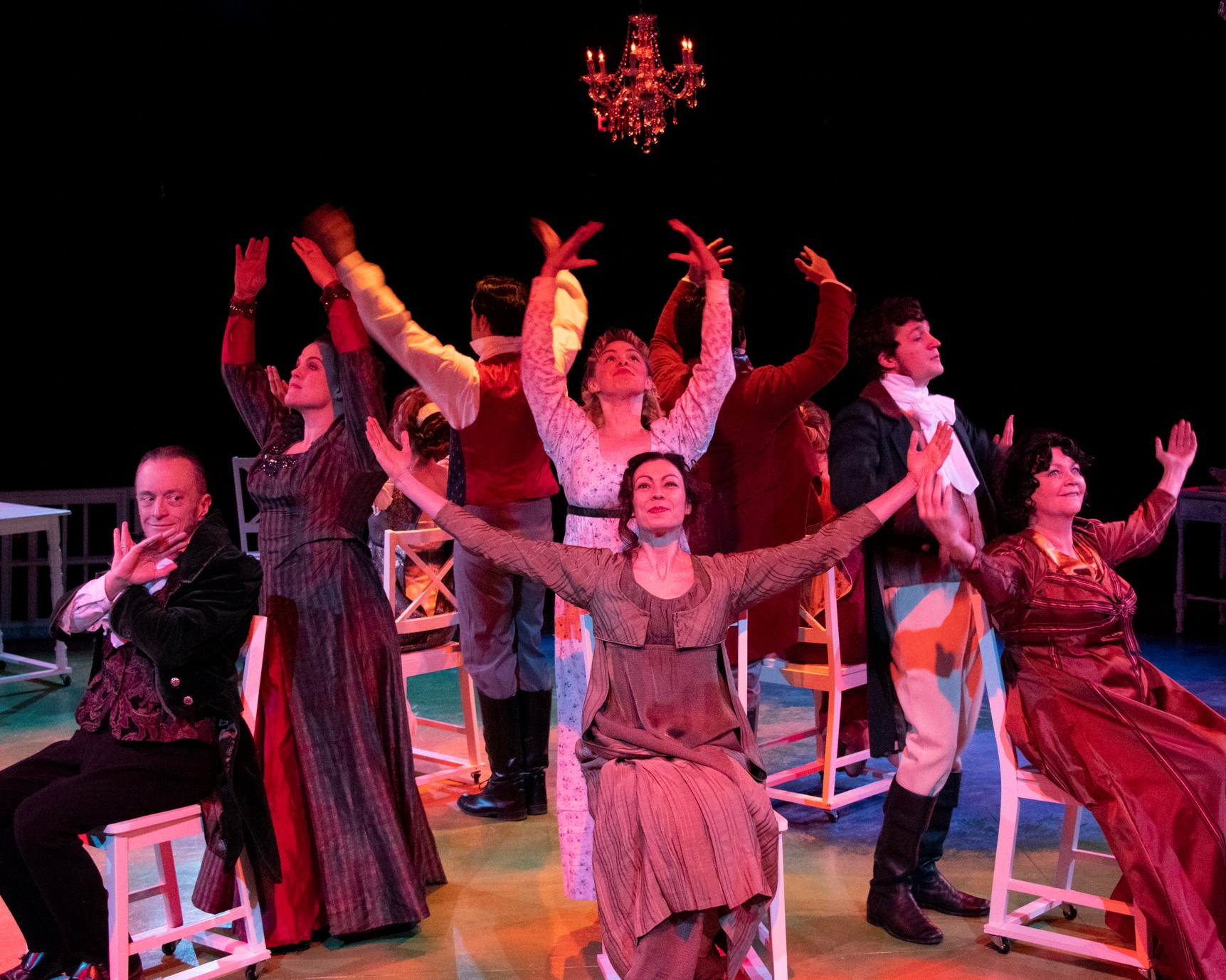 """4 Stars (out of 4) – Anthony Chase, The Buffalo News –  """"Jane Austen through a kaleidoscope"""""""