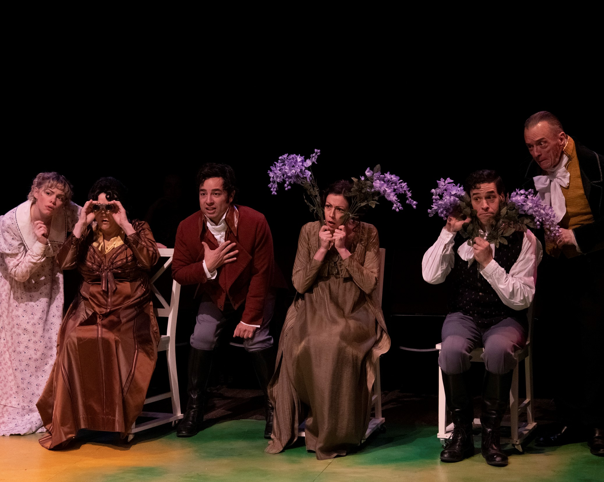 """""""do see this inventive romp … and with haste."""" – Cherie Messore, Buffalo Theatre Guide"""