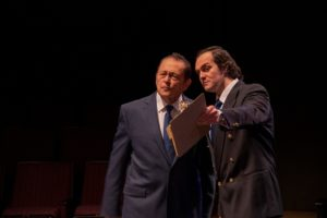 """ICTC's """"Frost/Nixon"""" on stage now thru Sun., March 24."""