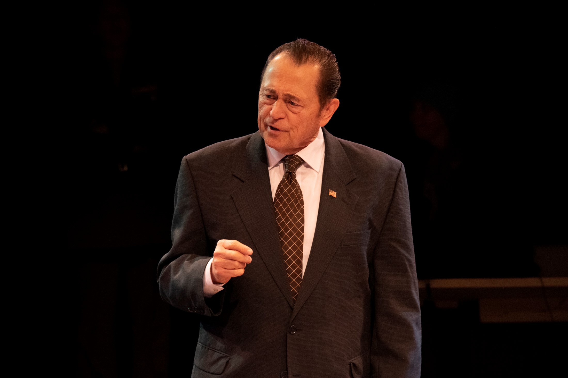 """3-1/2 Stars – """"'Frost Nixon'"""" dazzling, humorous & timely"""" – Ben Siegel, The Buffalo News"""