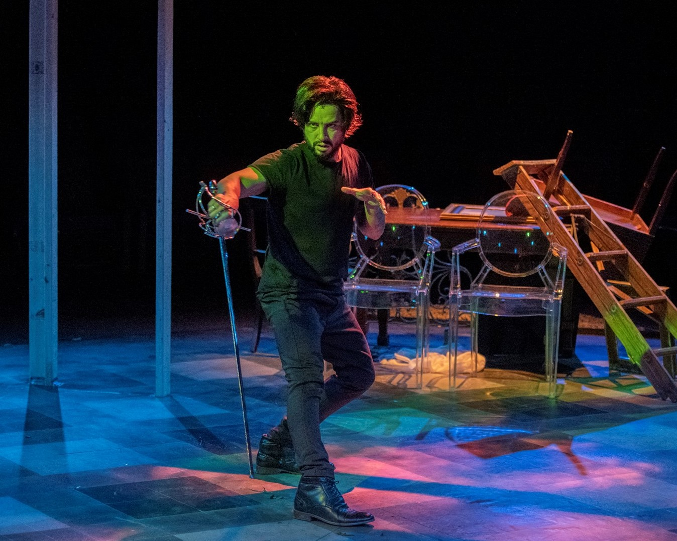 "3-1/2 Stars – ""Excellent directing, depth of talent … make 'Hamlet' a hit"" – The Buffalo News"