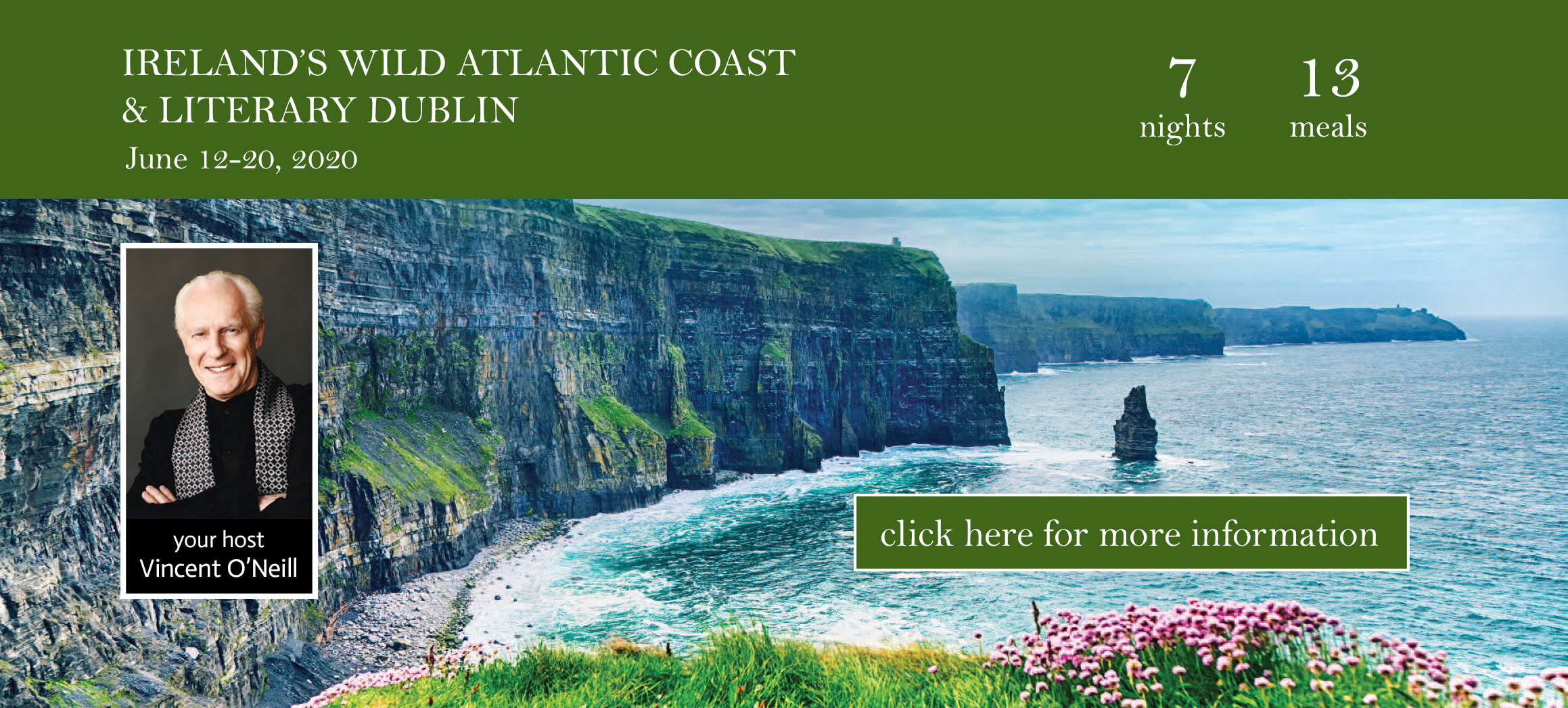 Learn more about ICTC's Ireland Tour Thursday, December 12, 11AM!